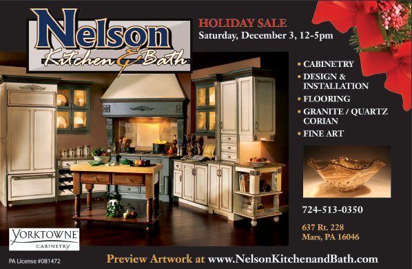 Bathroom Remodeling Pittsburgh North Hills north hills monthly magazine holiday sale ad | nelson kitchen
