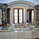 bathroom columns