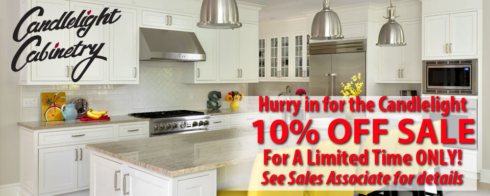 10 off sale candlelight cabinetry nelson kitchen